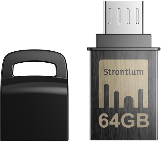 64GB Strontium NITRO Micro-USB OTG USB 3.1 Flash Drive