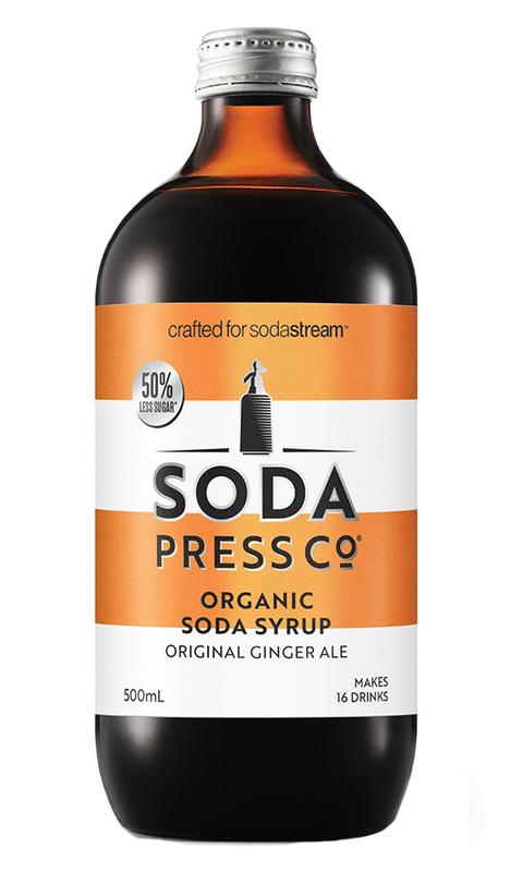 Soda Press: Ginger Ale 500ml