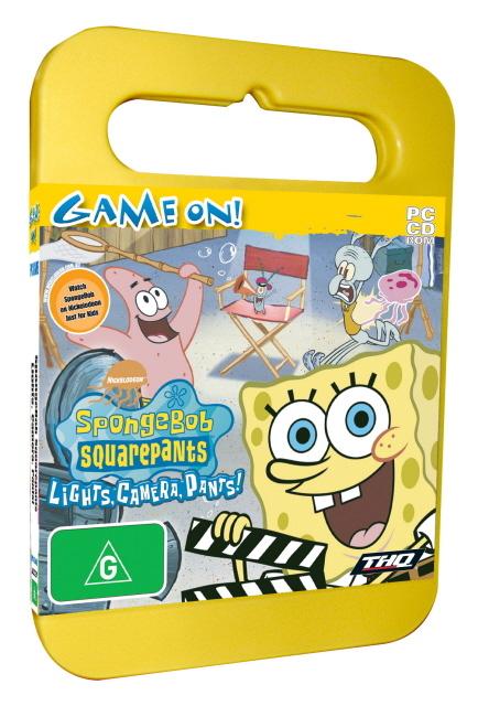 Spongebob Lights, Camera, Pants! - Toy Case for PC Games