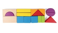 Hape: City Planner Block Set (Wooden 15pc)