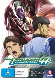 Mobile Suit Gundam 00 Second Season Vol. 5 on DVD