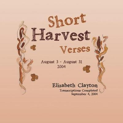 Short Harvest by Elizabeth Clayton image