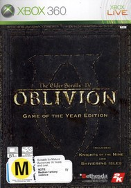 The Elder Scrolls IV: Oblivion Game of the Year Edition for Xbox 360 image