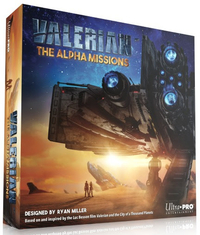 Valerian: The Alpha Missions - Board Game image