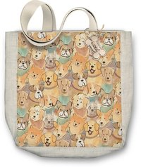 Molly & Rex: Dogs - Canvas Tote Bag