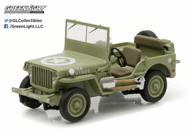 1/43: Willies Jeep MB - Diecast Model