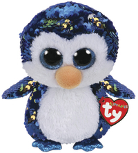 TY Beanie Boo: Flip Payton Penguin - Medium Plush