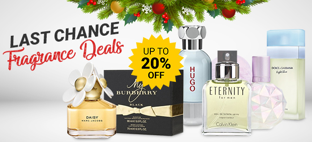 Last Chance Fragrance Deals!