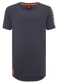 Canterbury: Boys Camo Logo Print Tee - Ombre Blue (Size 12)