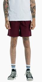 AS Colour Men's Beach Short - Burgundy (Size 38)