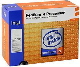 Intel Pentium 4 #640 3.2GHz 2MB 64bit LGA775 800MHz FSB 64-Bit/32-Bit; XD