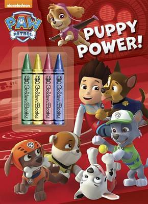 Puppy Power! (Paw Patrol) by Golden Books image