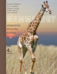 Mammalogy by George A Feldhamer