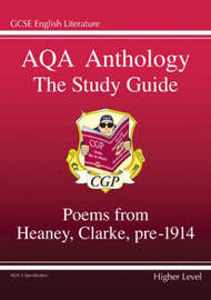 AQA Anthology the Study Guide by CGP Books