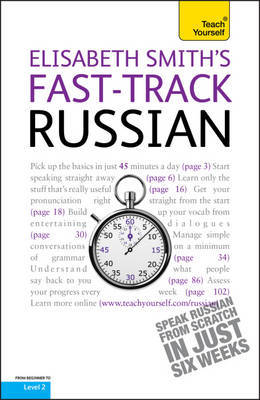 Fast-Track Russian Book/CD Pack: Teach Yourself by Elisabeth Smith image