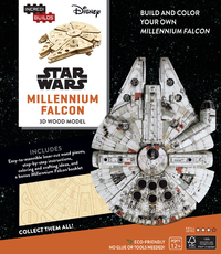 Incredibuilds: Star Wars: Millennium Falcon 3D Wood Model by Michael Kogge