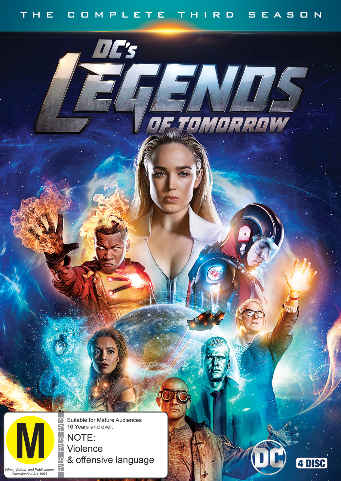DC'S Legends of Tomorrow: Season 3 on DVD image
