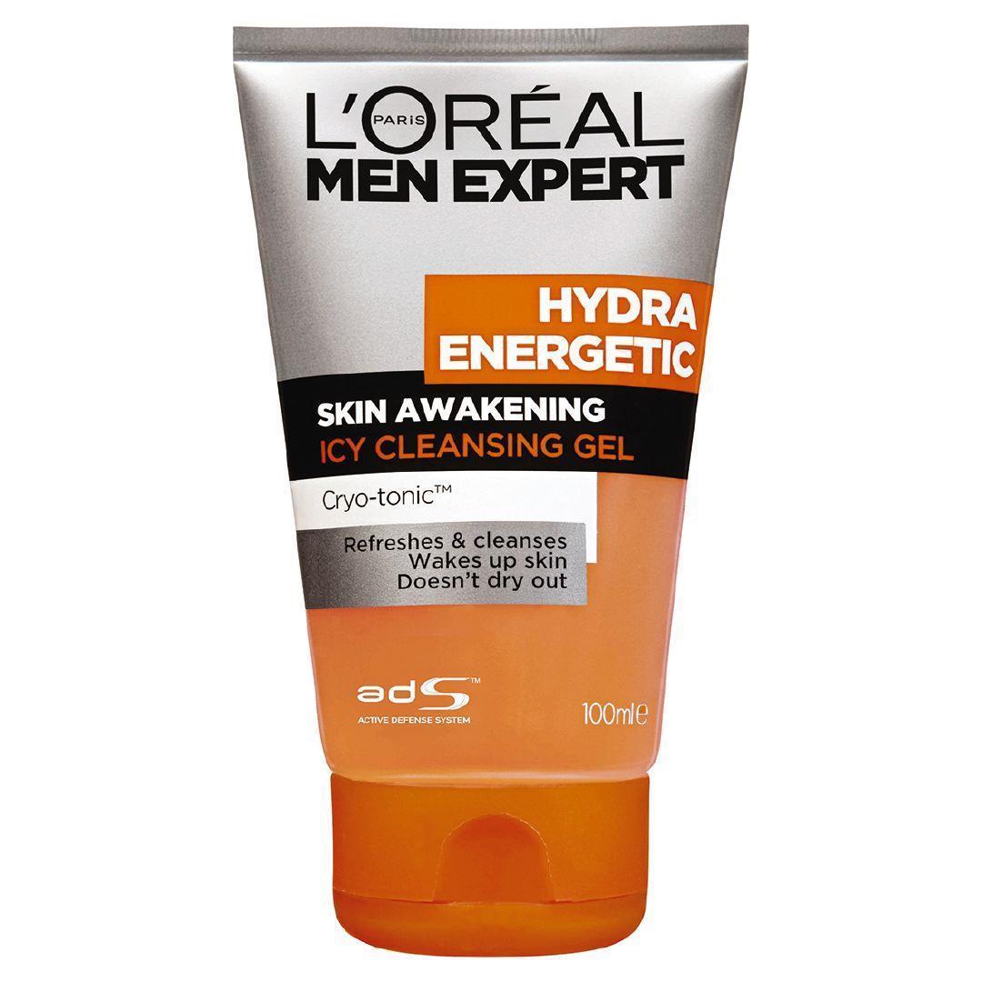 L'Oreal Men Expert - Hydra Energetic Cleansing Gel (100ml) image