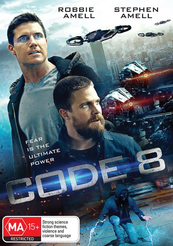 Code 8 on DVD