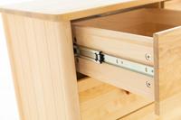 Astrid Solid Wood 5 Drawer Chest Dresser Tall Boy