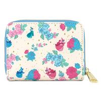 Loungefly: Sleeping Beauty - Floral Fairy Godmother Aop Zip Around Wallet