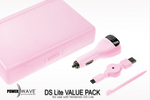 Powerwave DS Lite Value Pack- Pink for Nintendo DS