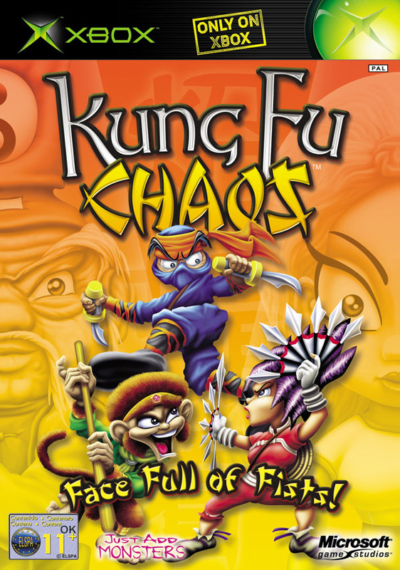 Kung Fu Chaos for Xbox
