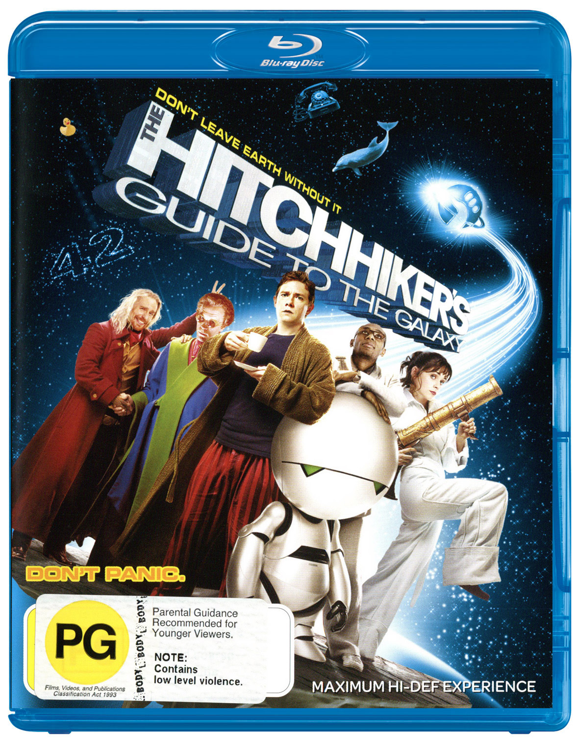 The Hitchhiker's Guide To The Galaxy on Blu-ray image
