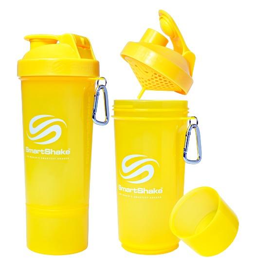 Smartshake Slim 500ml Neon Yellow image