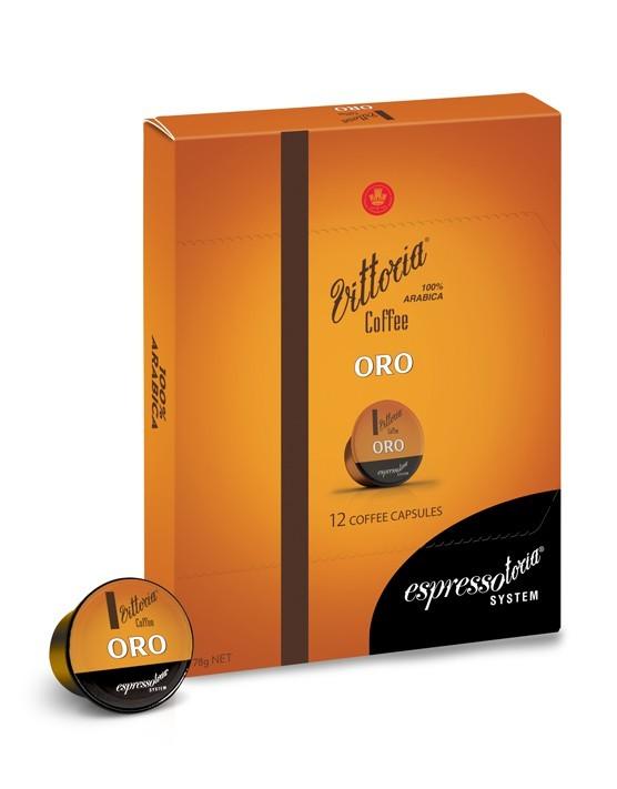 Vittoria Oro Coffee Capsules