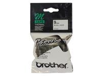 Brother Tape 8m x 9mm Black On White MK221