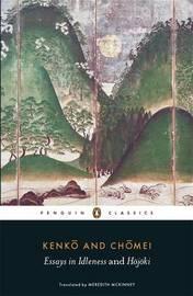 Essays in Idleness by Yoshida Kenko