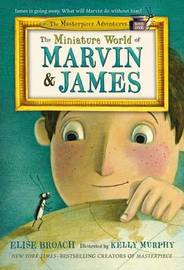 The Miniature World of Marvin & James by Elise Broach