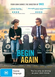 Begin Again on DVD