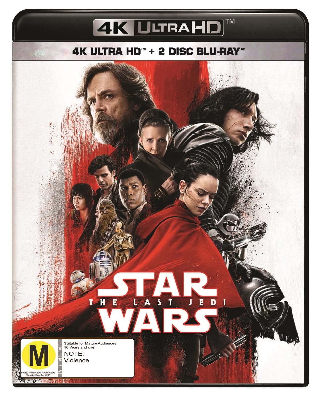 Star Wars: Episode VIII - The Last Jedi on UHD Blu-ray image