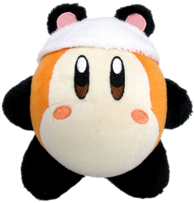 Kirby Plush Waddle Dee Panda 7 Toy At Mighty Ape Nz