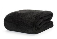 Snug Rug Sherpa Throw Blanket - Black
