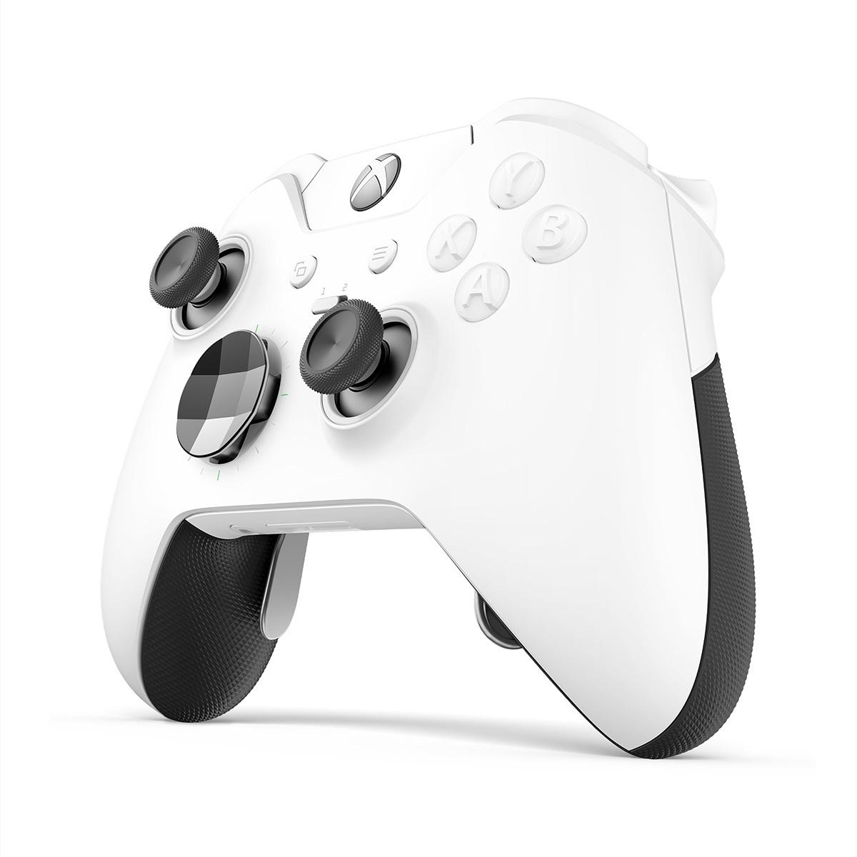 Xbox One Elite Wireless Controller - White for Xbox One image
