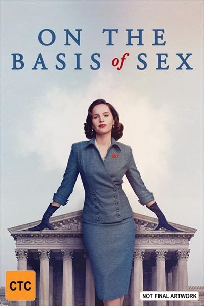 On The Basis Of Sex on DVD image