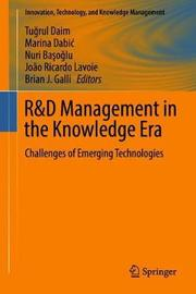 R&D Management in the Knowledge Era