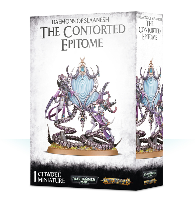 Warhammer Age of Sigmar: Daemon of Slaanesh - The Contorted Epitome