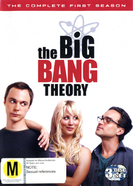 The Big Bang Theory - Complete 1st Season on DVD