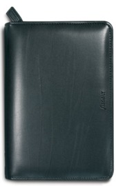 Filofax - Metropol Personal Organiser with Zip Closure - Black