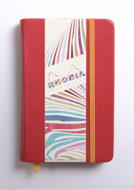Rhodiarama A6 Webnotebook Lined (Poppy)