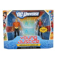 Young Justice Aquaman and Aqualad Figure - 2 Pack