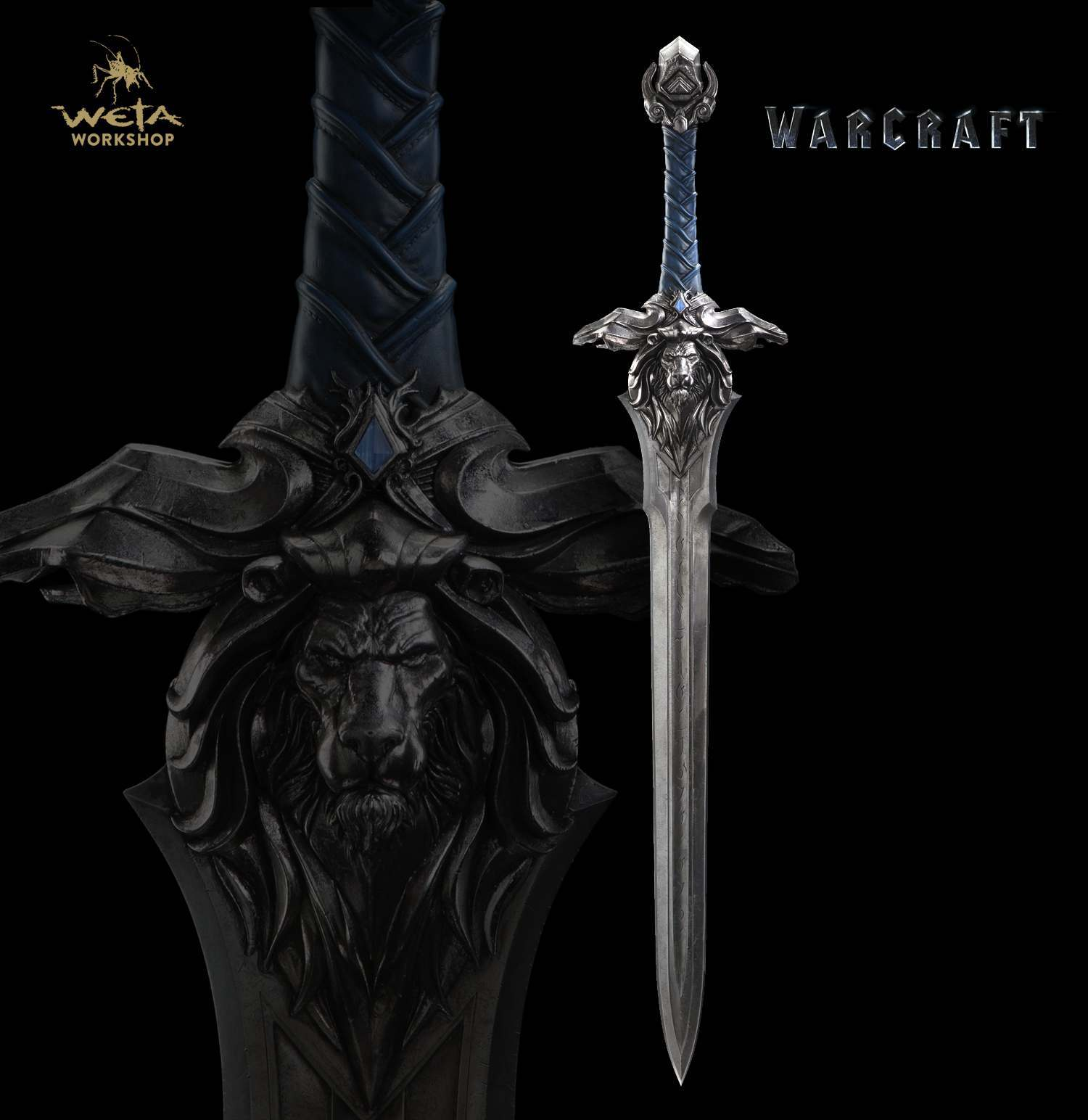 Warcraft Movie - 1:1 Scale Royal Guard Sword - Prop Replica image