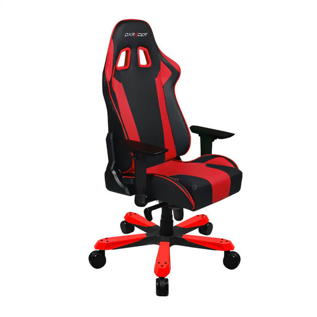 DXRacer King Series KS06 Gaming Chair (Black and Red) for PC