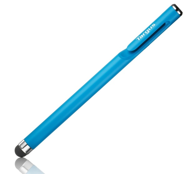Targus: Standard Stylus with Embedded Clip - Blue
