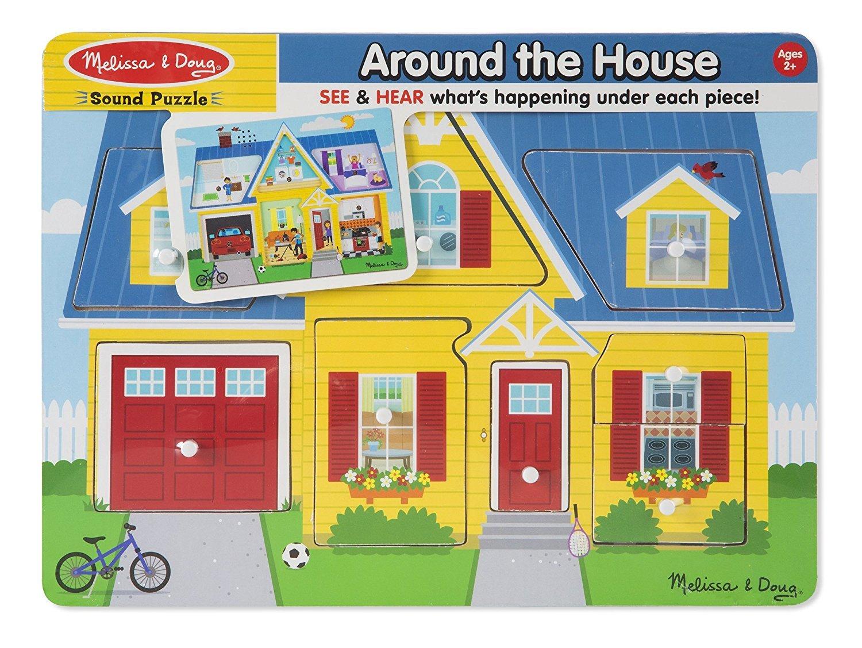 Melissa & Doug: Around the House Sound Puzzle image