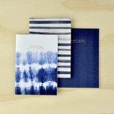 Kaisercraft K Style Indigo Notebook (Medium, 3pk)